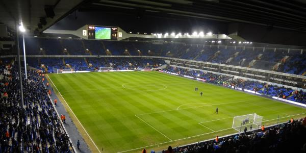White Hart Lane is partially decimated as progress is being done